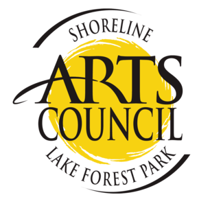Shoreline Arts Council Logo, music lessons, in shoreline, in lake forest park, in mountlake terrace, in seattle
